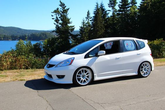 Honda Fit — the perfect car for adventures!