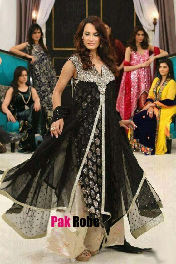 Shops designer party dresses and black party on pinterest for Indian wedding dresses usa