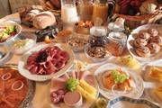 Eine große Auswahl zum Frühstück bietet Ihnen Ihr Landhotel im Allgäu