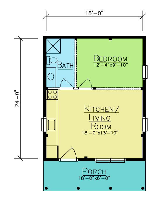 Baskahegan floor plan from ward cedar log homes log for Cedar home floor plans