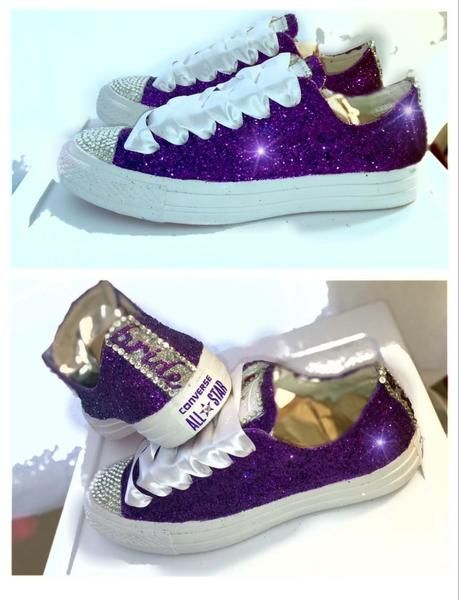 Wedding sneakers shoes
