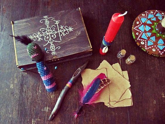 Papa Legba Voodoo Altar Kit  Voodoo Magic Travel от iCatchUrDream