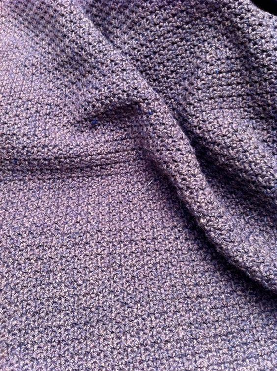 Le point granite tuto crochet gratuit en francais pour debutants point au crochet projet - Tuto tricot debutant gratuit ...