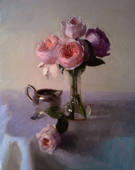 """""""Juliet""""  Dennis Perrin  Oil on linen  20"""" x 16""""  contact perrinpainter@gmail.com"""