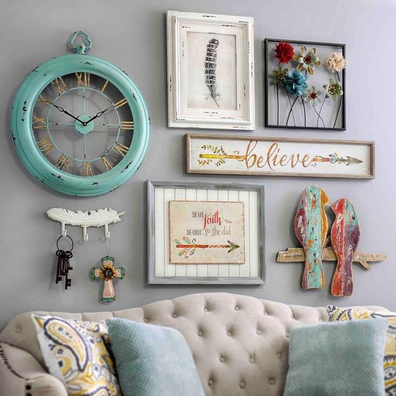 Sounds like you love the eclectic nature of #fleamarket finds! #myKirklands #vintagedesign #walldecor #popofcolor