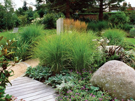 Natural Dividers Landscaping Garden Galleries Hgtv