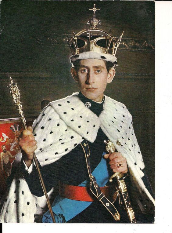 Lot of Two Vintage Postcard Prince Charles and Princess Anne 1970s | eBay