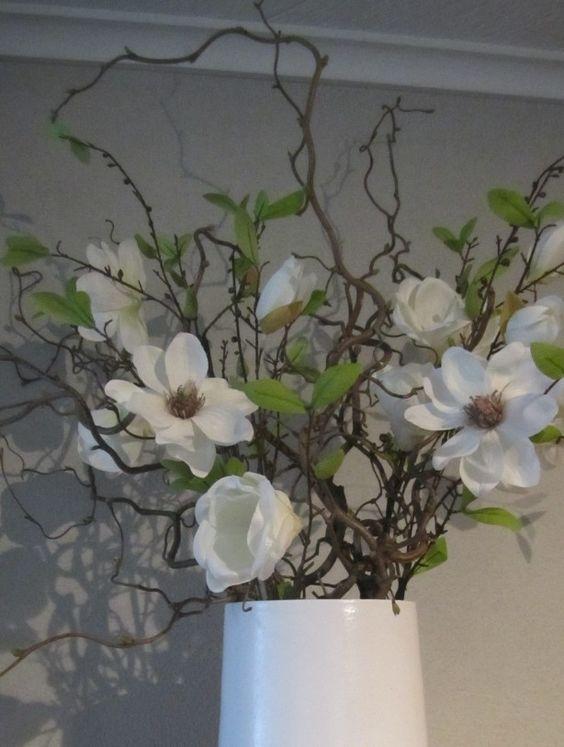 Zijde bloemen en decoratie takken, makkelijk en onderhoudsvriendelijk   Zijde bloemen (Silk
