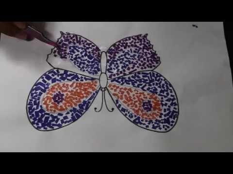 105 Gambar Kolase Kupu Kupu Dari Kertas Gratis Terbaru Kolase Origami Kerajinan Binatang