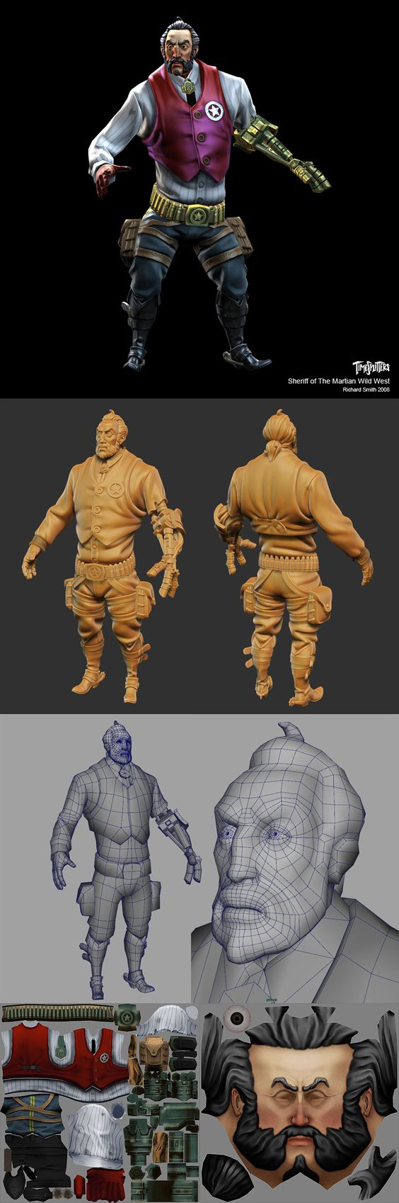 2d Character Design Tutorials : Picked up by cgchips d dcg tutorials and dprinter news
