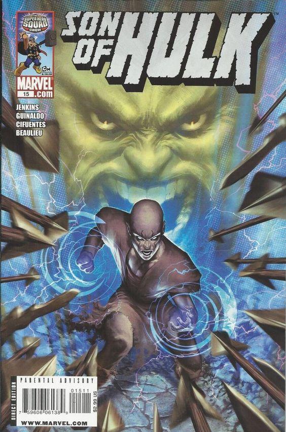 Marvel Son of Hulk comic issue 15