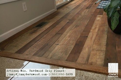 Ready To Install Reclaimed Wood Floor Artisan Mix Hardwood Floor