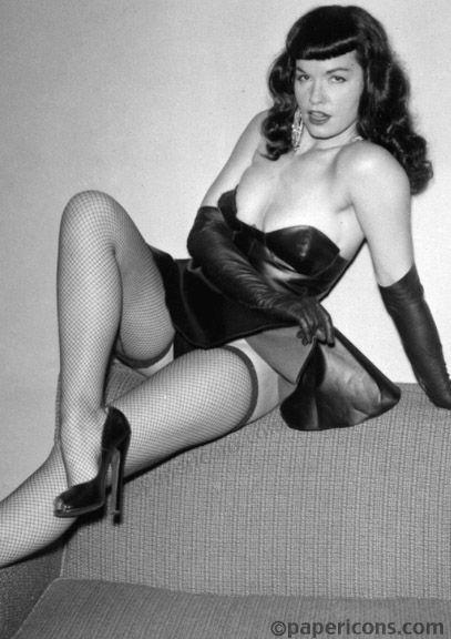 Bettie Page Lenny Burtman Intro Photo:
