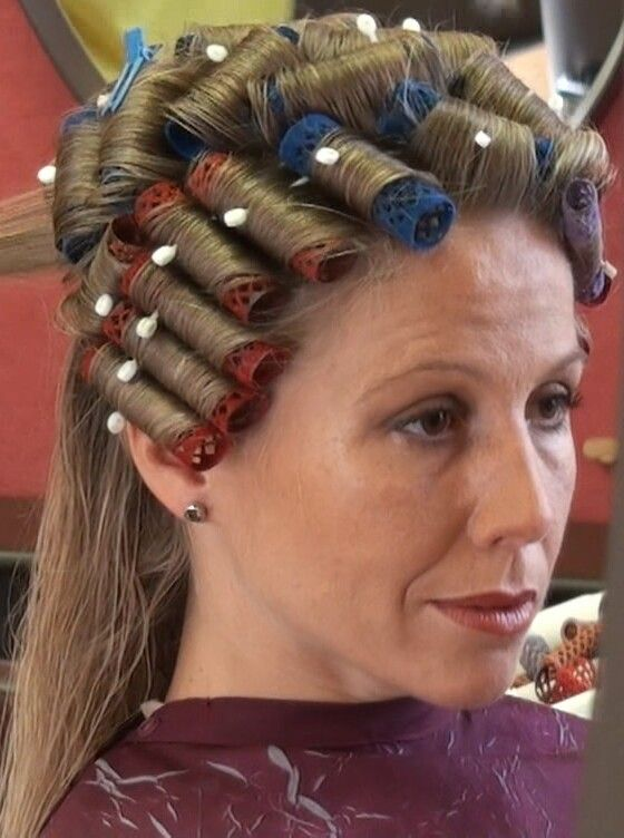 Pin Von Rick Locks Auf Rollers Lockenwickler Haare Und Beauty