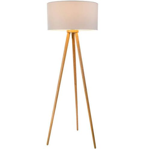 3 Bein Holz Lampe Grau Lampe Holzlampe Holz
