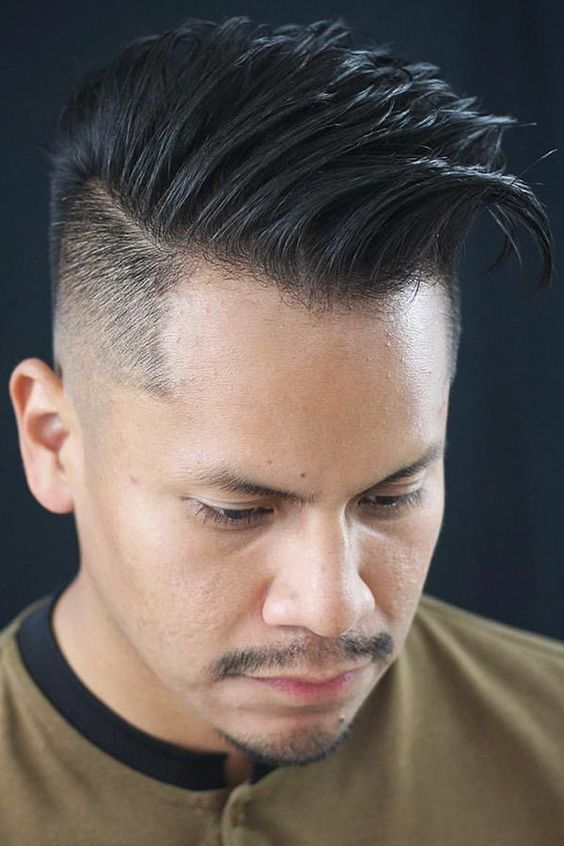 long quiff hairstyle for guys