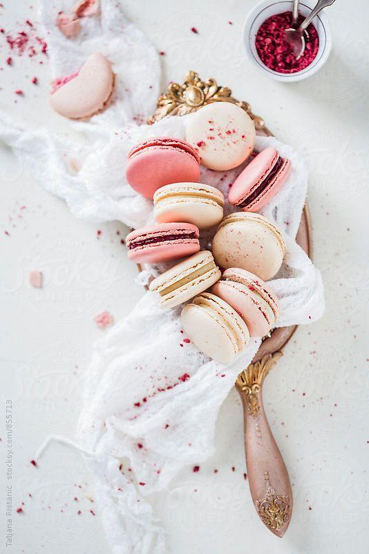 ... raspberry and vanilla macaroons | tatjana ristanic photography ...