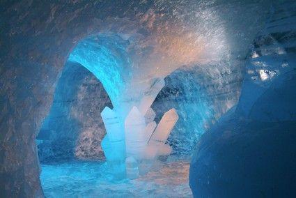 Grotte de glace - Les 2 Alpes, Activités