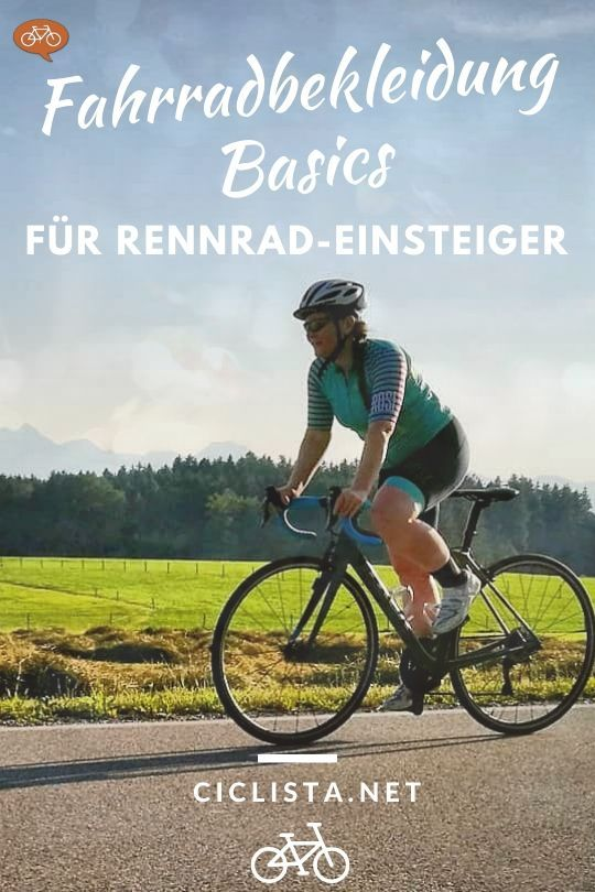 Fahrradbekleidung Einsteiger Ausrustung Furs Rennrad In 2020 Rennrad Fahrradbekleidung Rennen