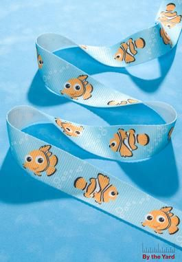 "Webbing Disney Nemo 1-1/4"" : by the Yard : Fashion Craft Trims by Wrights at Simplicity.com $6.99 per yard"