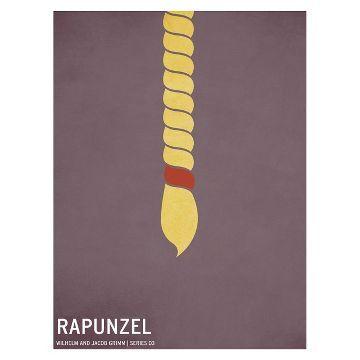 Rapunzel Unframed Wall Canvas
