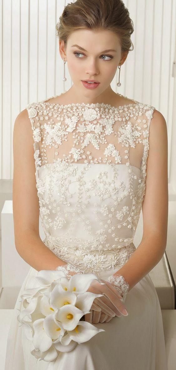 Rosa Clara 2015 Colección Nupcial - Parte 2 - Belle Magazine. El Blog de la boda para la novia sofisticada