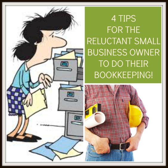 4 Tips for the reluctant small business owner to do their bookkeeping! http://myofficebooks.info/uncategorized/4-tips-for-the-reluctant-small-business-owner/ #smallbusiness #Myofficebooks