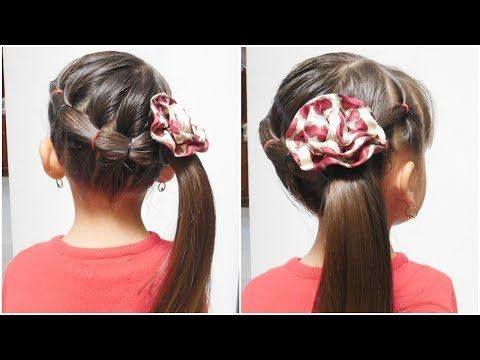 Peinado Facil Con Ligas Peinados Para Ninas Easy Hairstyle For Girls Youtube Easy Hairstyles Hair Styles Girl Hairstyles