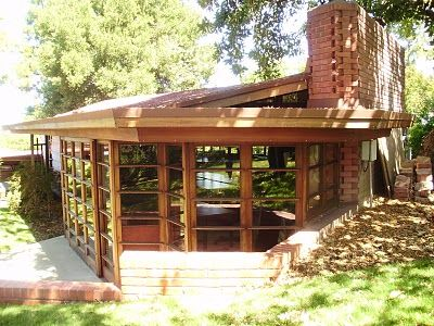 Usonian honeycombs and frank lloyd wright on pinterest for Honeycomb house floor plan