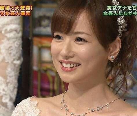 笑顔が美しい皆藤愛子