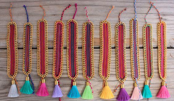 #tassel #bonkibiza #friendshipbracelet #fashionjewelery #summer2014 #ibiza https://www.etsy.com/listing/198160313/new-limited-edition-ooak-beautiful-pink?ref=shop_home_active_16