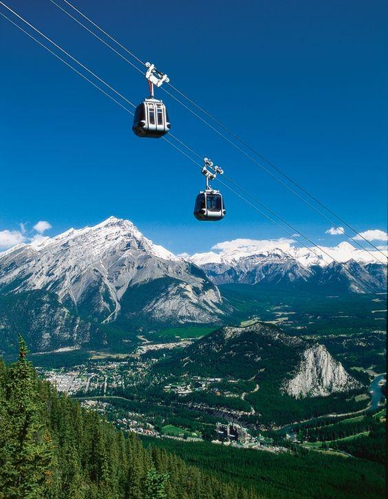 Banff Alberta, Canada - Sulpher Mountain Gondola