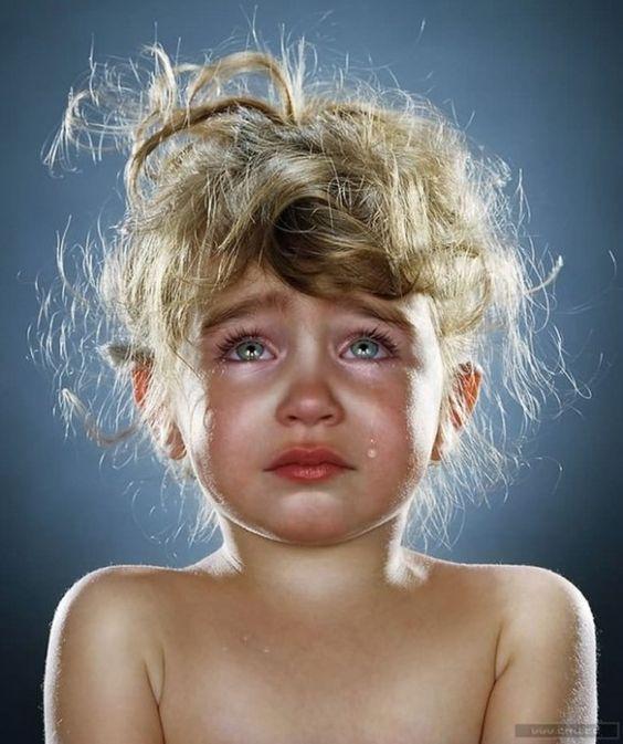 I want  wipe her tears away...