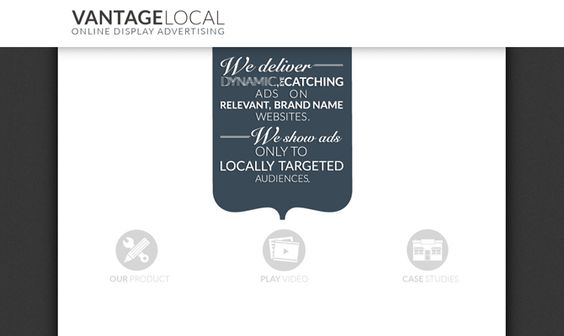 Vantage Local is a leader in locally targeted online media. We enable local businesses and agencies to take advantage of cutting edge local advertising technology at a cost effective price.