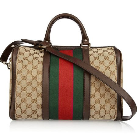 There's something just so Gucci about that green and red stripe. It also gives a more subtle nod to the designer monogram.SPRING/SUMMER 2014'S BEST HANDBAGS.