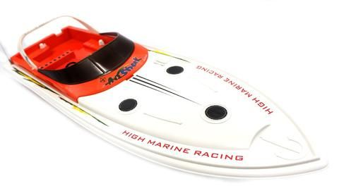 "27"" Super Large Dual Propellers Radio Controlled Racing Speed Boat"