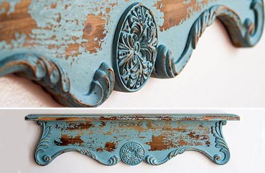 Corbel Wall Shelf | French Country Wall Shelf | Vintage Style Home Decor: