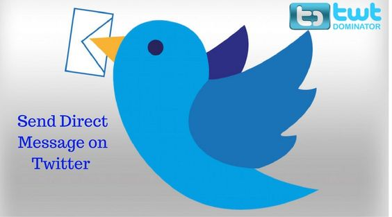 Send direct message in Twitter