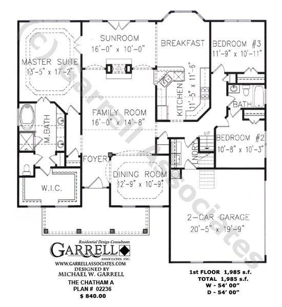 11 best House plans images on Pinterest House floor plans Dream