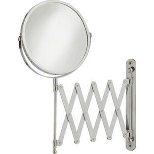 Buy HOME Extendable Round Chrome Shaving Mirror at Argos.co.uk, visit…
