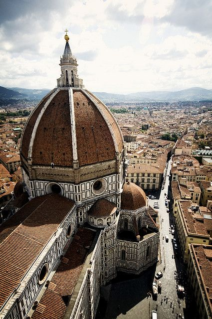 cupola by brunelleschi, florence