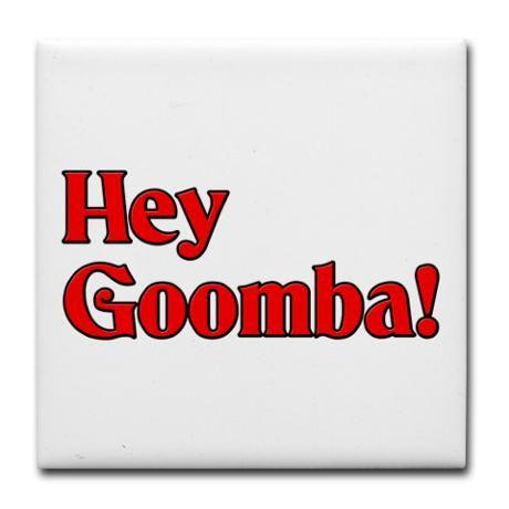 Hey Goomba! Tile Coaster