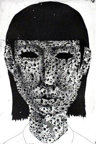 100 Faces by Tomiyuki Sakuta: Juxtapoz-TokiyumiSakuta003.jpg