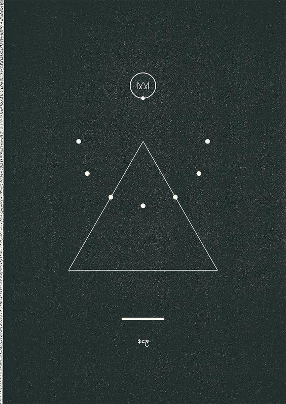 triangle of life: heaven, earth, wind, water or sun, moon, earth, wind, water