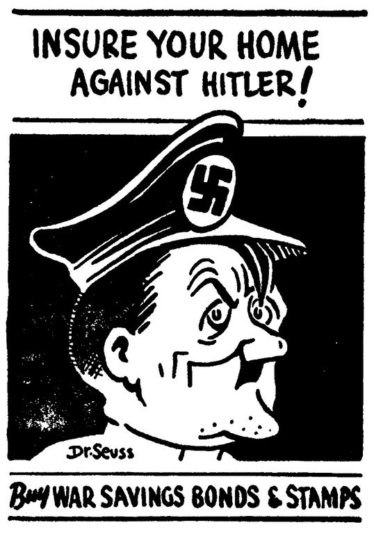 Dr. Seuss's World War II Political Propaganda Cartoons | Brain Pickings: