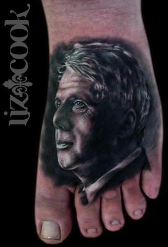 Robert-Frost-Realistic-Portrait-Tattoo-Liz-Cook-Dallas-Texas-DFW.jpg 340×500 pixels