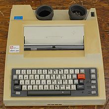 I was the keynote speaker for the Keystone Awards dinner in Gettysburg last night. Among other things, I talked about the evolution of journalism tools, from typewriters to Pinterest. This is a TI Silent 700, the first portable computer I used. Here's what I said: http://wp.me/poqp6-2cK