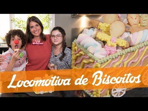 Locomotiva De Biscoitos Receita Do Junior Bake Off Brasil Youtube Locomotiva Biscoitos Receitas