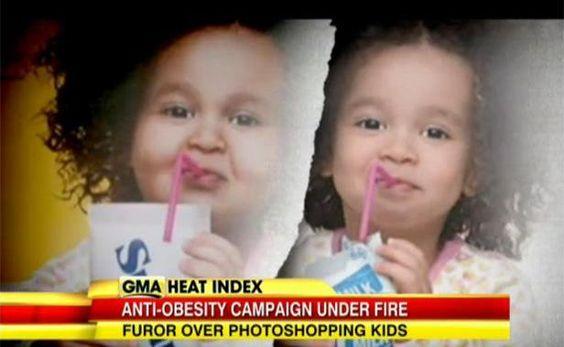États-Unis : Une campagne sur l'obésité infantile fait polémique