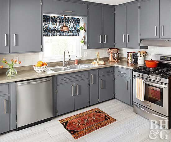 11 Small Kitchen Color Ideas For A Big Boost Of Style Small Kitchen Colors Modern Kitchen Cabinet Design Kitchen Cabinet Design